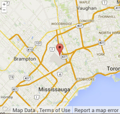 map of toronto area showing KWHSS 2015 location